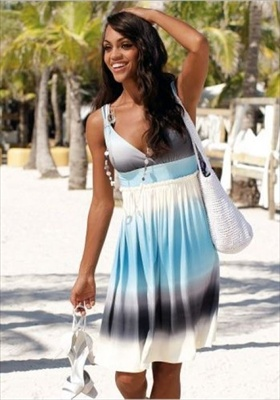 new Empire waist beach dresses