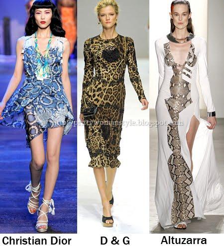 Летни рокли с животински принтове