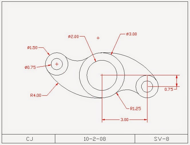 autocad 2d drawings for practice pdf