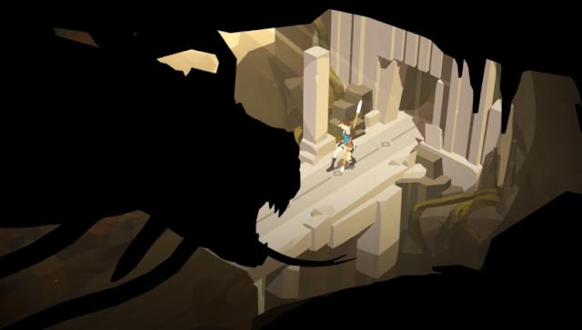 Lara Craft Go screenshot mobile smartphone tablet gameplay
