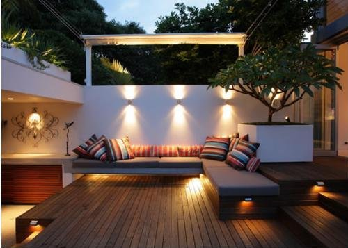 INTRERIOR DESIGN HOME AMERICAN Modern Terrace Design Decorating