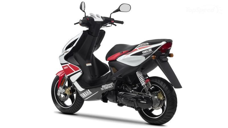 Yamaha Aerox WGP 2012 Specs Prices and defects