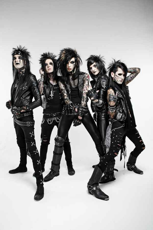 Black veil brides andy biersack plays slip and slide nataliezworld black veil brides sophomore release set the world on fire released this past week via lava musicuniversal republic records sold an estimate of 20000 to m4hsunfo