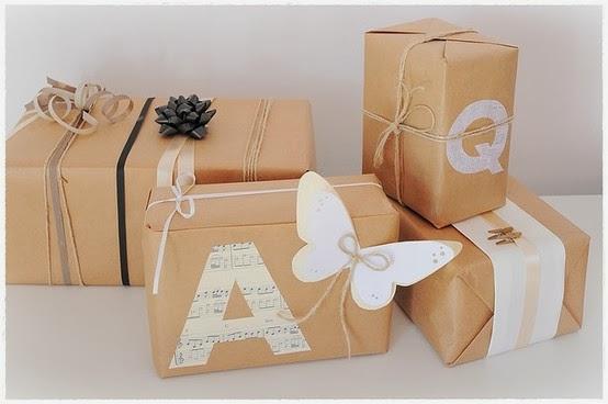 jueves de enero de envolver los regalos de forma original
