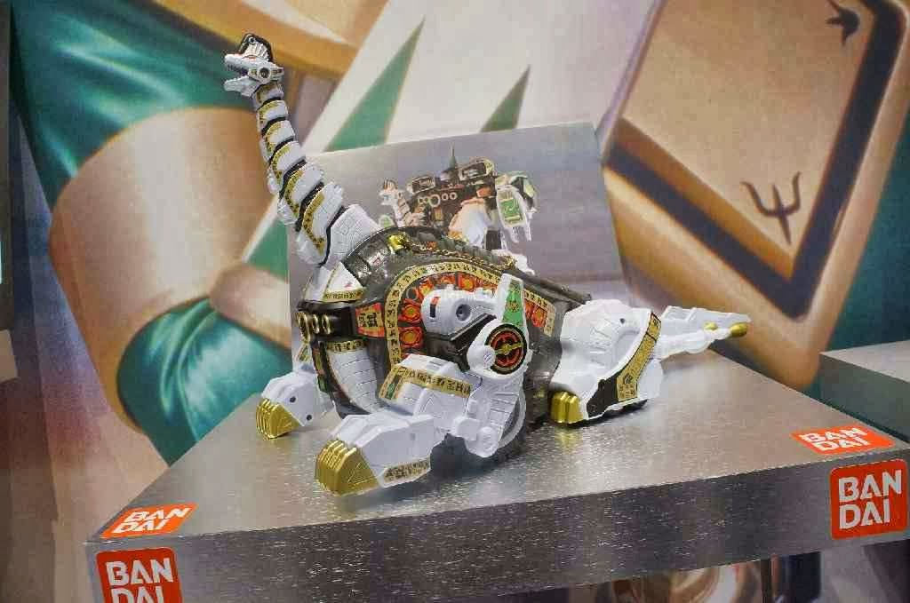 Mighty morphin power rangers titanus