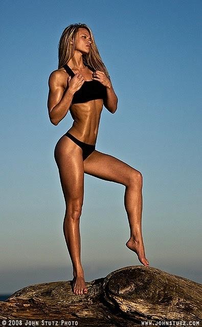 Tabitha Klausen-Leandri - Tabitha Klausen - tall fitness model