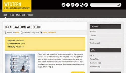 Theme Wordpress Wester