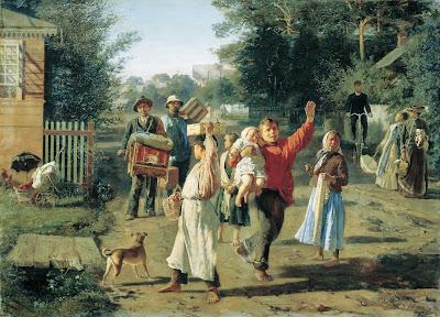Alexei Korzukhin, There Goes Petrushka, 1888