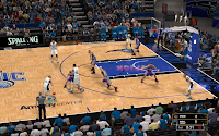 NBA 2K13 Orlando Magic Court Patch
