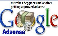 mistake beginners make on adsense