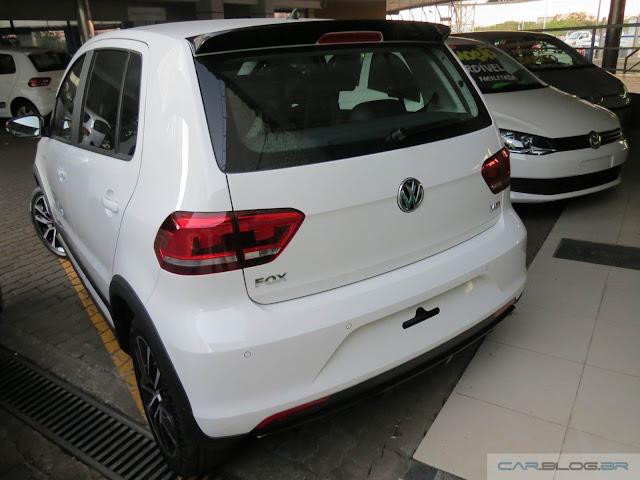 Volkswagen Fox 2016 Pepper  - Branco