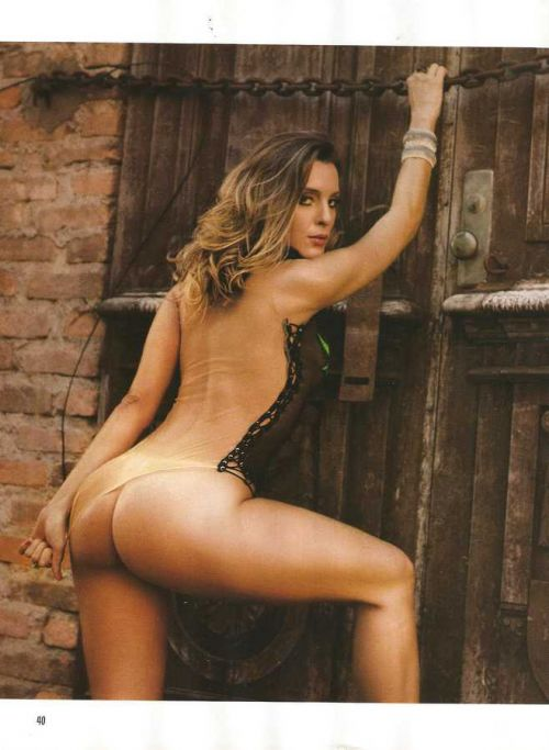 Revista Sexy Luhanna Melloni