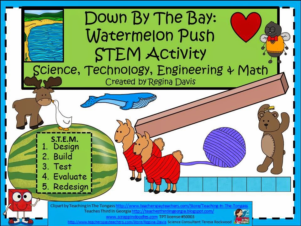 http://www.teacherspayteachers.com/Product/A-Down-By-The-Bay-Watermelon-STEMScience-Technology-Engineering-Math-1254138