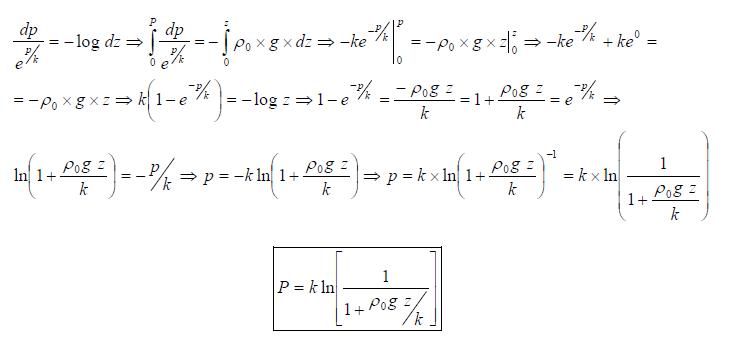 Ejercicio resuelto de estatica de fluidos formula 6 problema 2