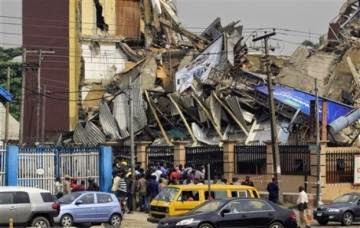CLUB HOUSE COLLAPSES IN ABUJA