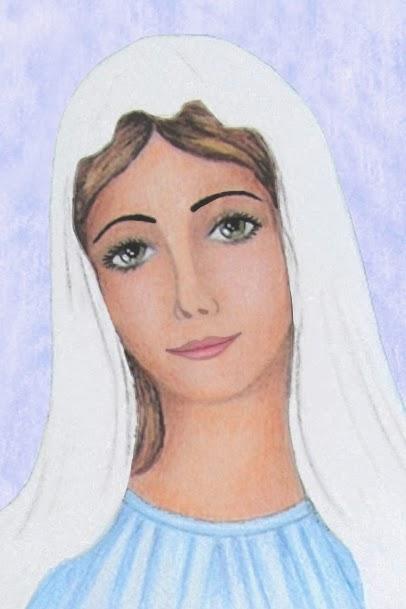 Famoso Madonna Madre dell'Umanità: Visita di Maria Vergine a Santa Elisabetta AX53