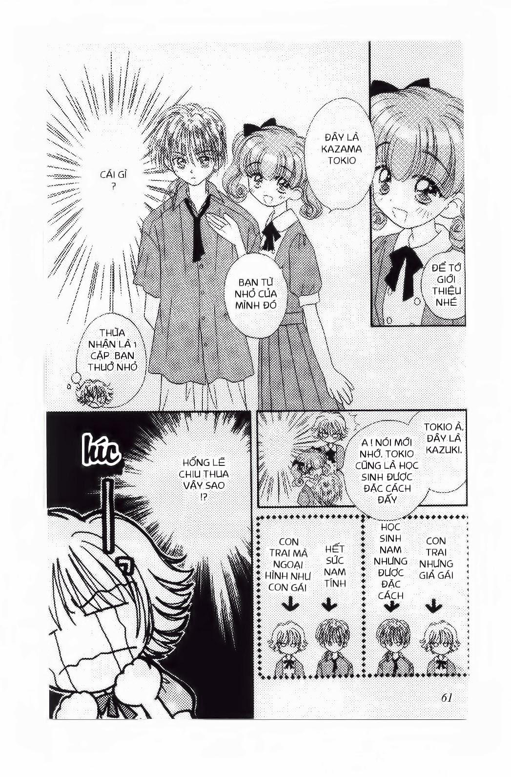 Chắp Cánh ước Mơ chap 15 - Trang 14