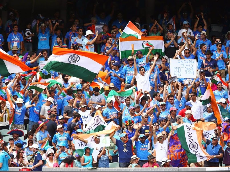 Indian Support for Match against Australia in 2015