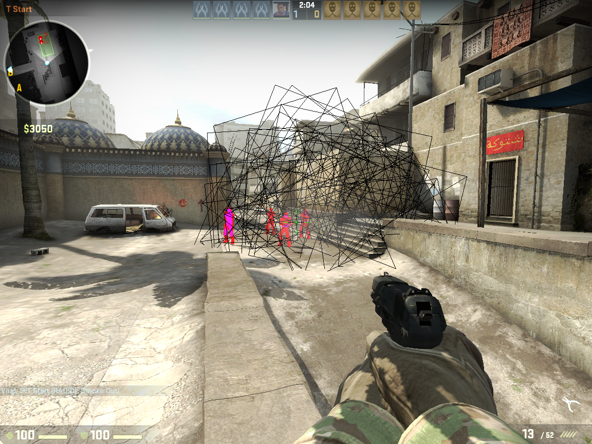 how to get no recoil in cs go