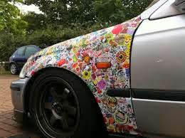 Dress Up Your Car Funky Girly Car Stickers Cover Your Car