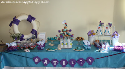 Litlle mermaid party