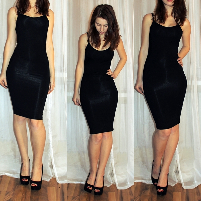 little black dress, bodycon dress