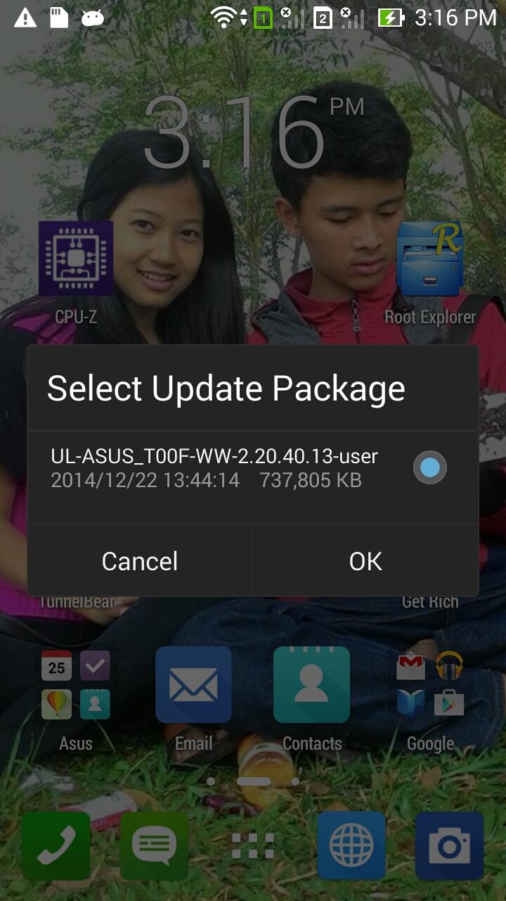 Cara Upgrade Zenfone 5 ke KITKAT 4.4.2 - OTA Upgrade ...