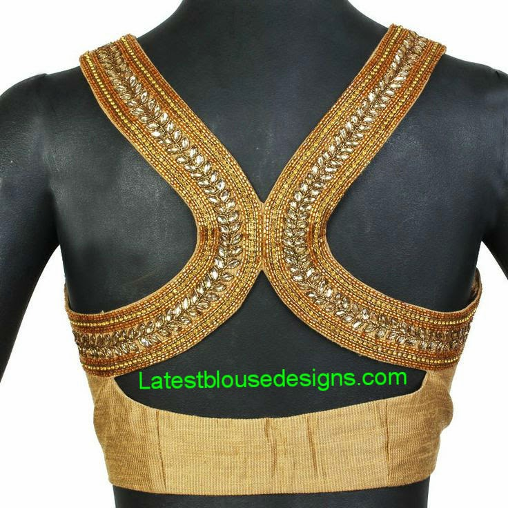 racer back saree blouse