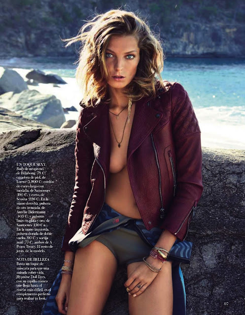BREAKING THE WAVES: DARIA WERBOWY BY PATRICK DEMARCHELIER FOR VOGUE SPAIN JULY 2013