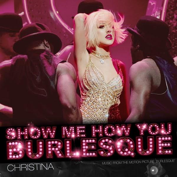 show me how to burlesque christina aguilera