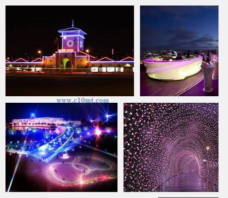 Những địa điểm đẹp ở Sài Gòn vào buổi tối hẹn hò www.c10mt.com