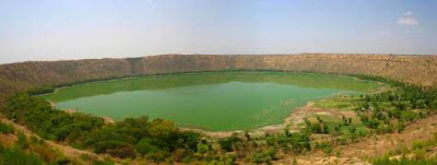 Lonar crater lake image