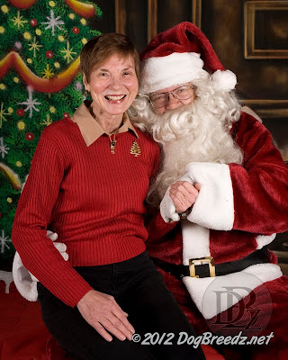 Wendy tells Santa what she wants for Christmas!