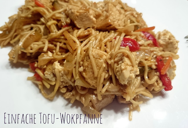[Food] Einfache Tofu-Wokpfanne // Simple Tofu-Wok-Stir-Fry