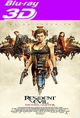 Resident Evil: The Final Chapter (2017) 3D SBS