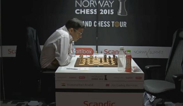 Norway Chess 2015. Vishy Anand