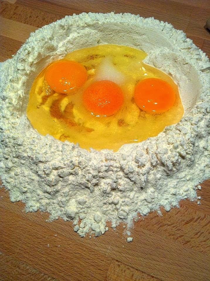 Pasta fresca al huevo