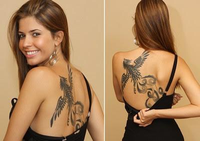 Tatuagem da Cacau - Tatuagens Fenix