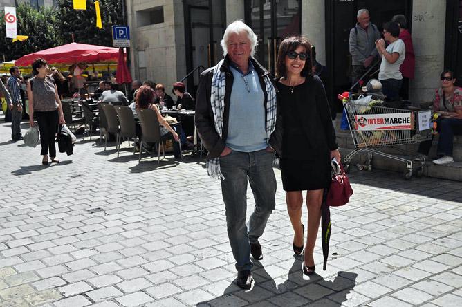 Jean-Pierre Boyer et Élisabeth Dartenset à Périgueux