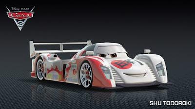imagen galeria ShuTodoroki - Los nuevos personaje de Cars 2