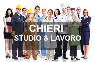 CHIERI: STUDIO & LAVORO