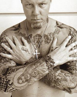 James Hetfield habla sobre el significado de sus tatuajes