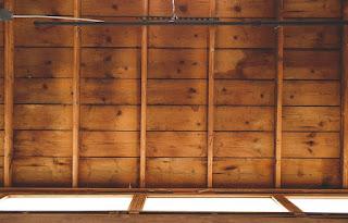 sabbiatura sottotetto legno