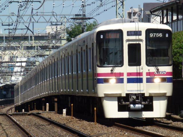 京王電鉄 準特急 高幡不動行き4 9000系(節電ダイヤに伴う運行)