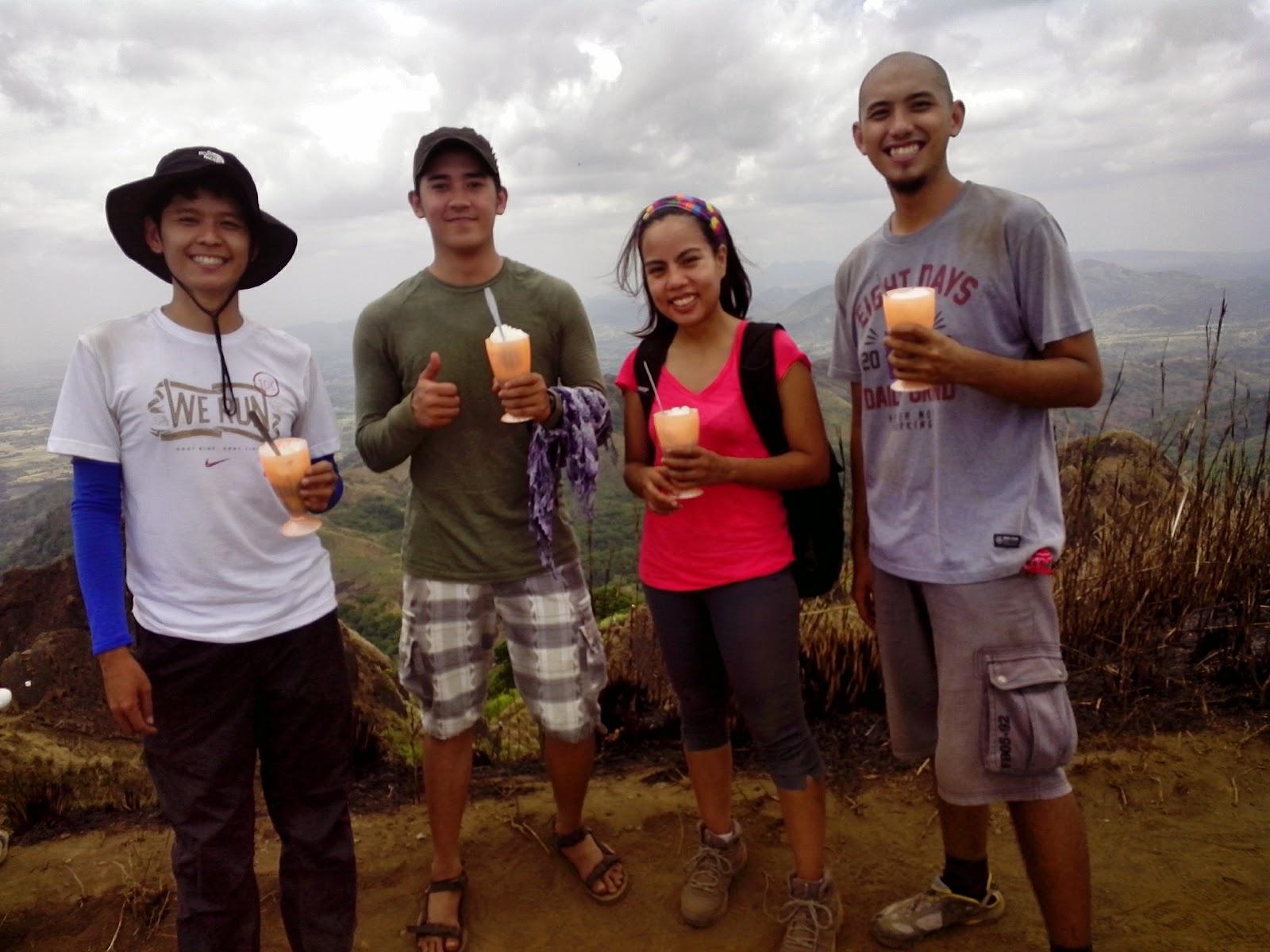 Mt. Batulao Summit - Halo atop the Mountain