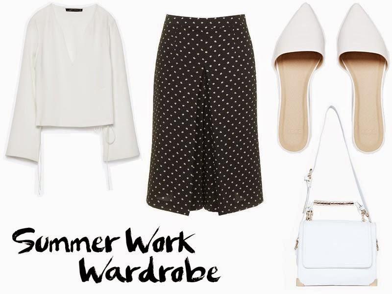 summer work wardrobe