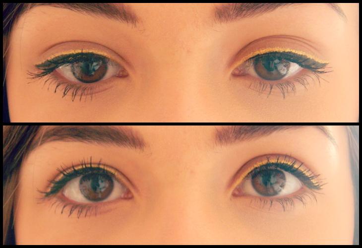 Love From Lisa Beauty Trend - Double Flick Eyeliner