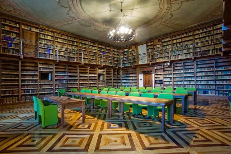 La biblioteca dell'Accademia delle Scienze di Torino