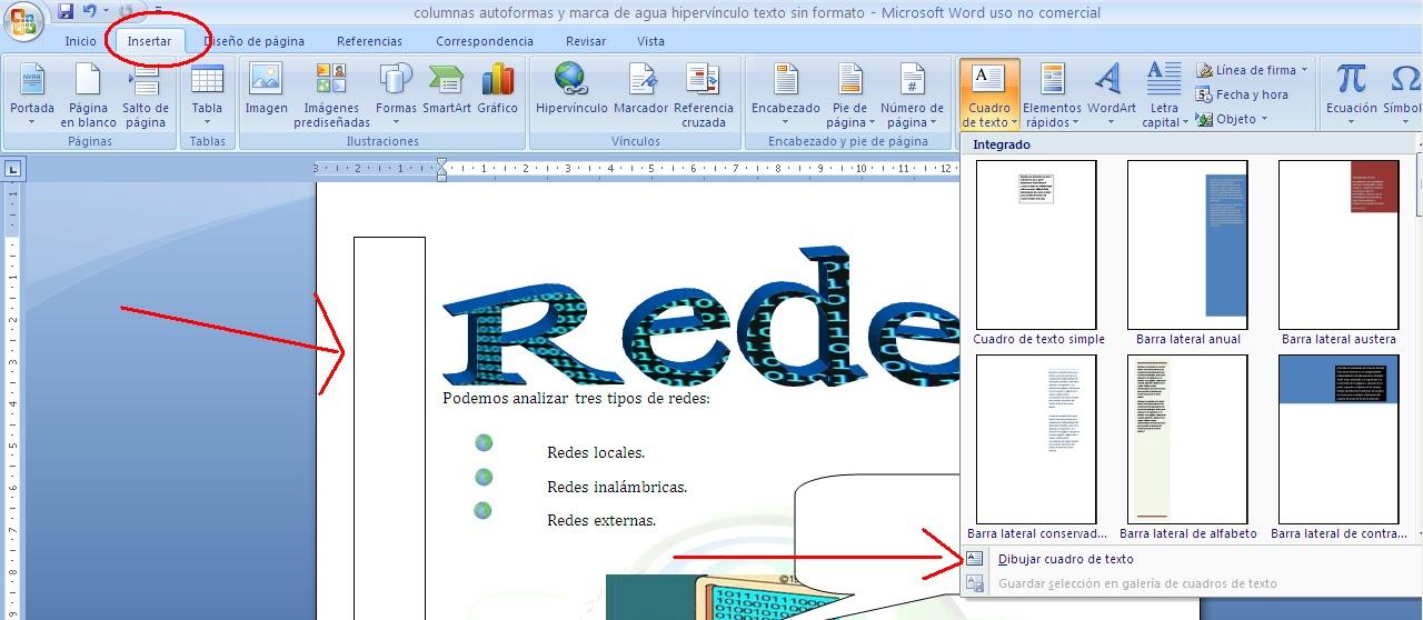 Informática-Ajedrez-Matemáticas: ACTIVIDAD 10. USO DE WORD