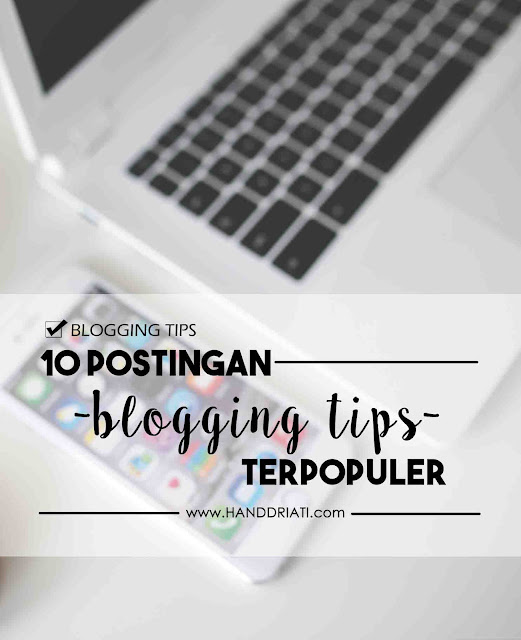 10 Artikel Tentang Blogging Tips
